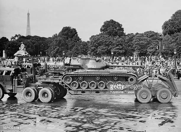 Military Parade In Paris On July 14Th 1961
