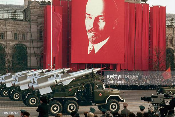 Military Parade in Red Square