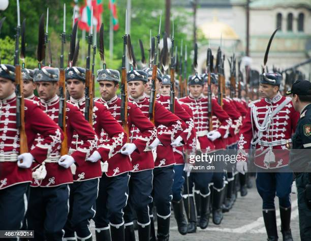 military parade in sofia,bulgaria - military parade stock pictures, royalty-free photos & images