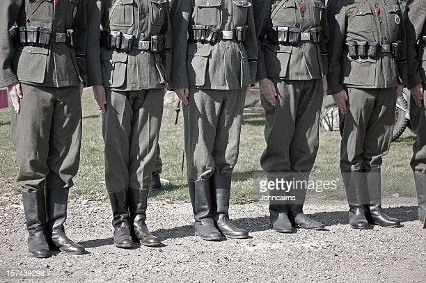 military parade. - fascism stock pictures, royalty-free photos & images