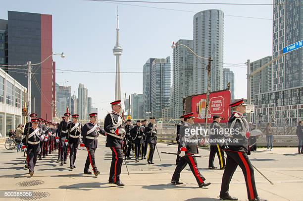 Military Parade while the City of Toronto and the Canadian Armed Forces commemorate the 200th anniversary of the Battle of York Details of the...
