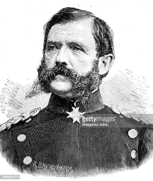 Military people in the Franco-Prussian War 1870 - 1871, Eugen Anton Theophil von Podbielski, 17 October 1814 - 31 October 1879, was a general in the...