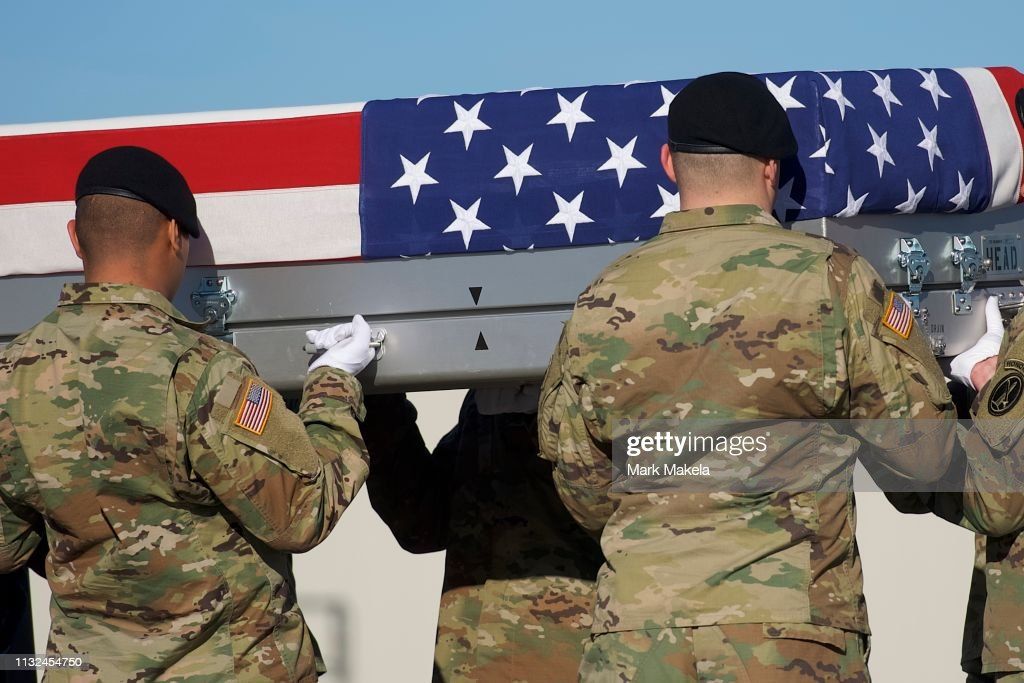 DE: Body Of Army Spc. Joseph Collette Killed In Combat In Afghanistan Returns To Dover Air Force Base