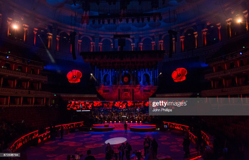 Festival of Remembrance 2017 - Rehearsal : News Photo