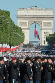 paris france us military personnel take