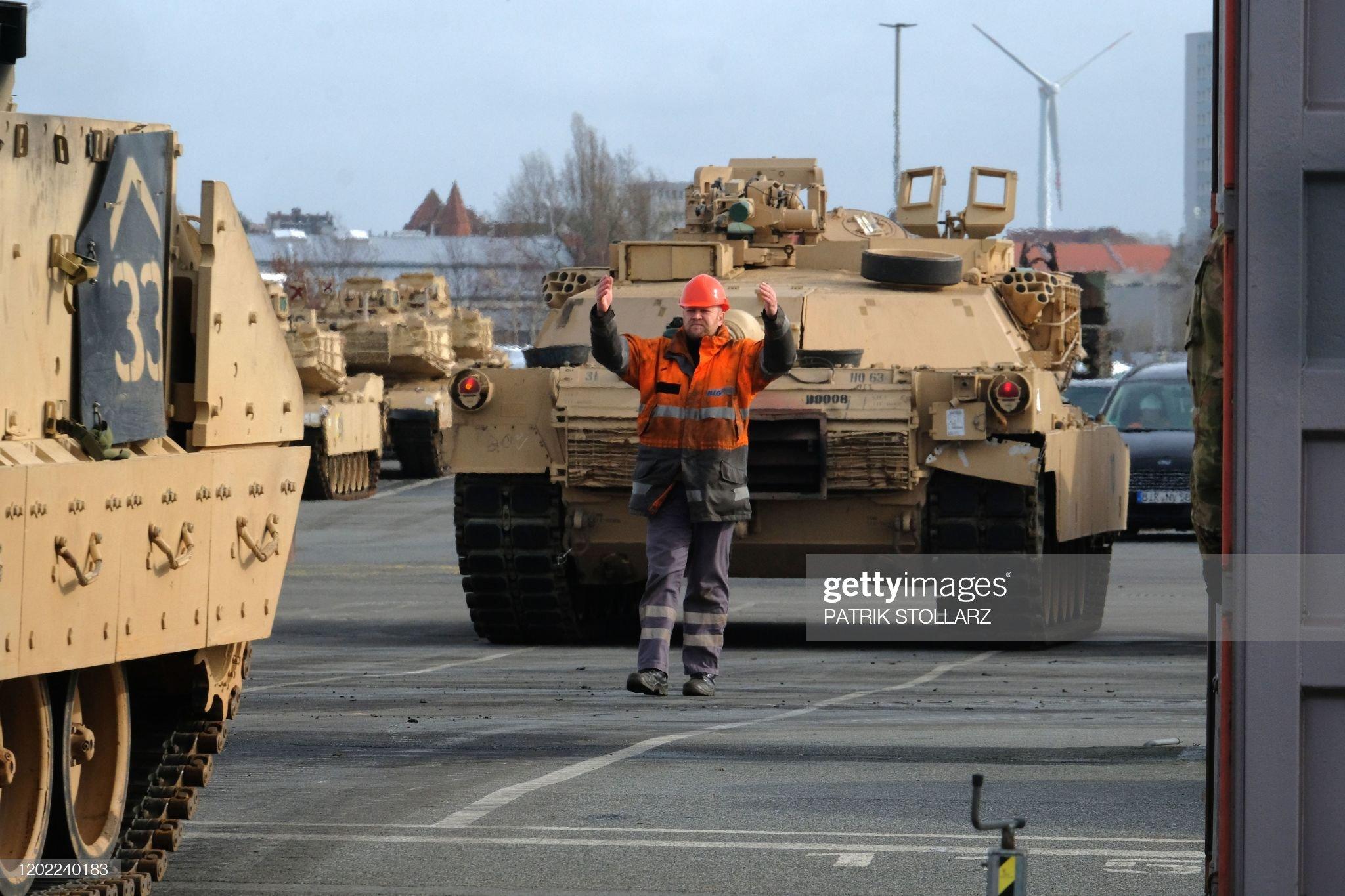 GERMANY-US-DEFENCE-ARMY : News Photo