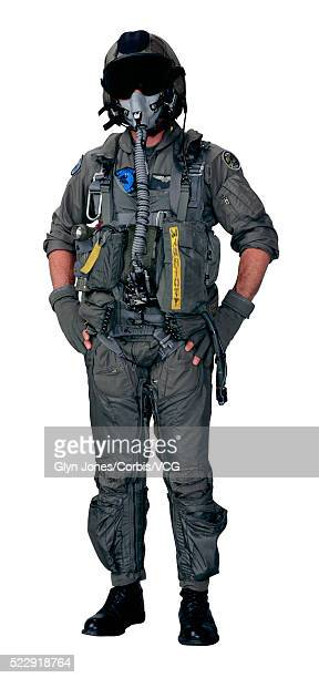 military pilot - aviation hat stock photos and pictures