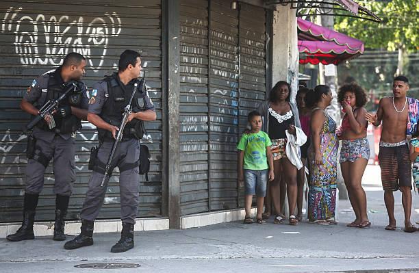 Brazil police raid Rio suburb Niteroi in crime crackdown