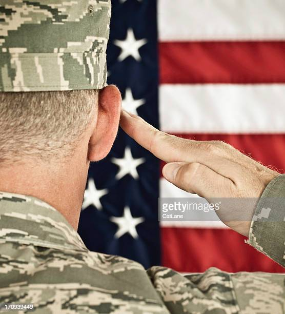 Military Salute Newest Uniform