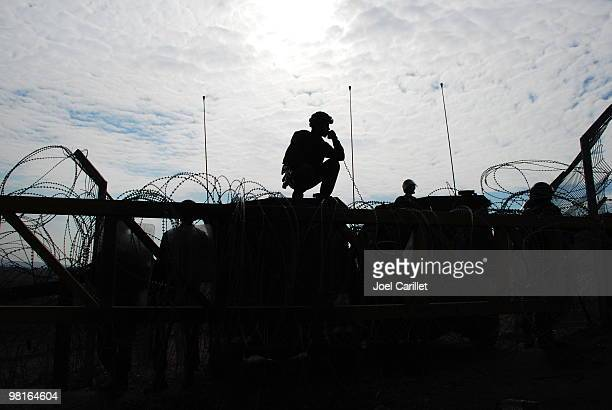 military silhouette - israel stock pictures, royalty-free photos & images