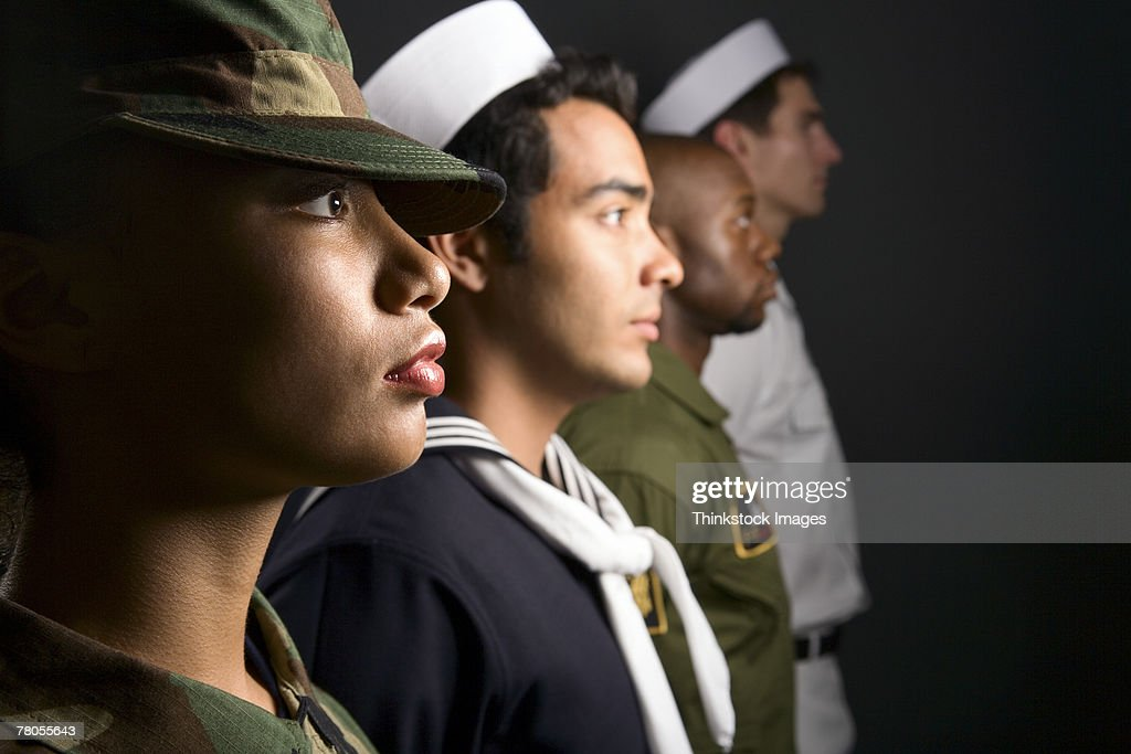 US military soldiers : Stock Photo