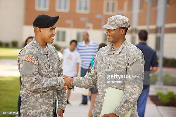 ROTC Military students