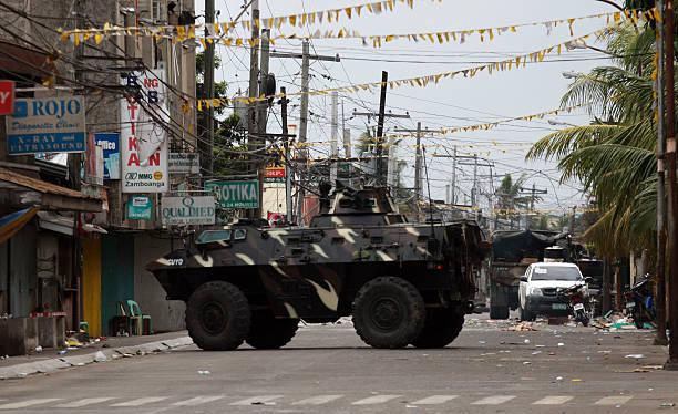 Fighting Continues Between Filipino Military And MNLF In Zamboanga