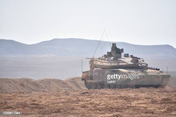 military training in southern israel - armored vehicle stock pictures, royalty-free photos & images