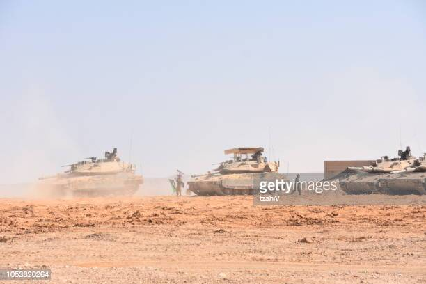 military training in southern israel - israeli military stock pictures, royalty-free photos & images
