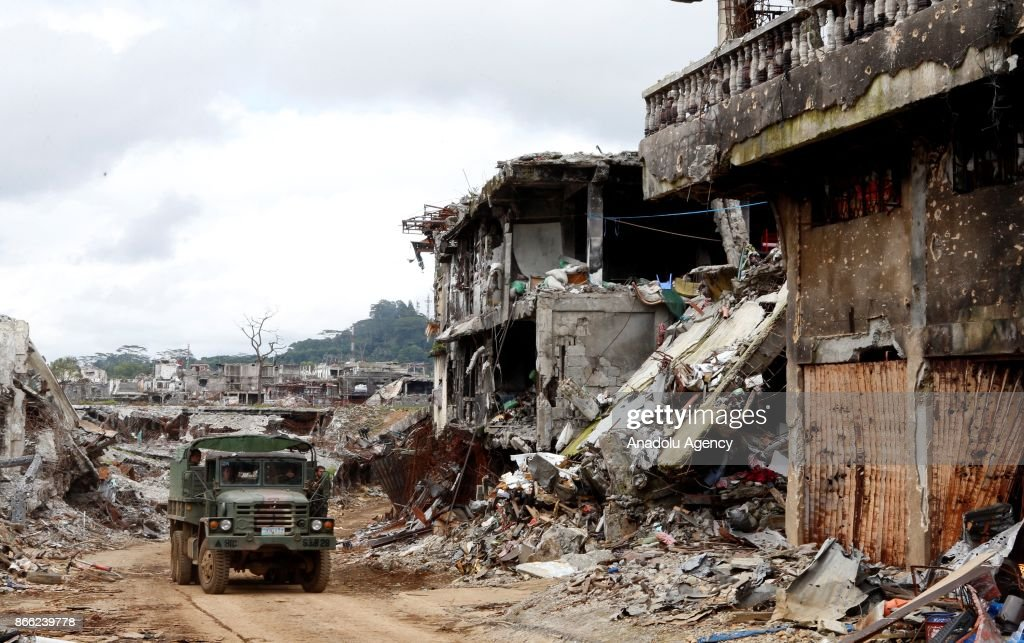 Aftermath of the battle against Daesh in Marawi City : News Photo