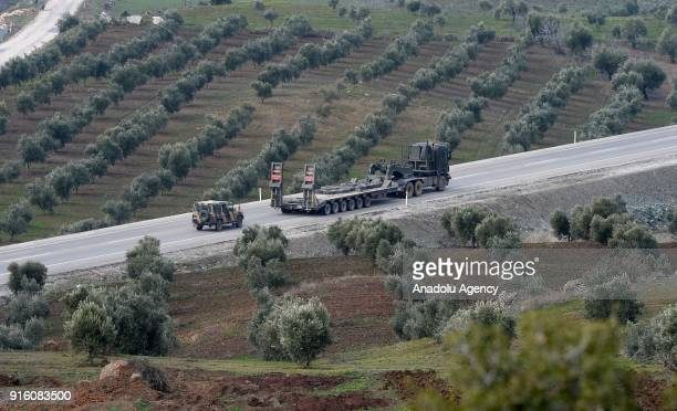Military vehicles of Turkey are being dispatched to support the units at border as Turkish Army Forces continue to hit PYD/PKK terror group targets...