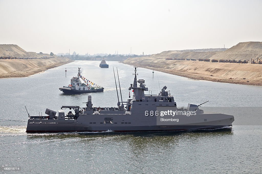 Egypt's $8 Billion New Suez Canal : News Photo