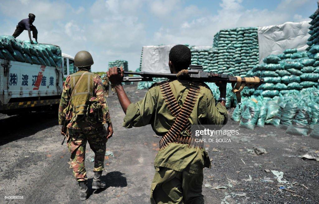 SOMALIA-KENYA-UNREST : Nachrichtenfoto