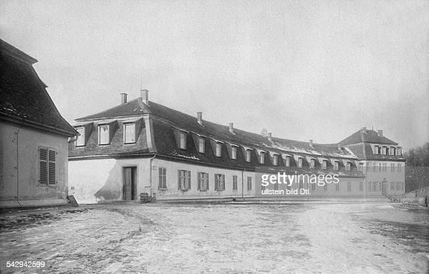 Militärakademie in Stuttgart , Aussenansicht- um 1900Foto: R. Wetzig