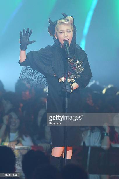 Miliyah Kato performs onstage during the MTV Video Music Awards Japan 2012 at Makuhari Messe on June 23 2012 in Chiba Japan
