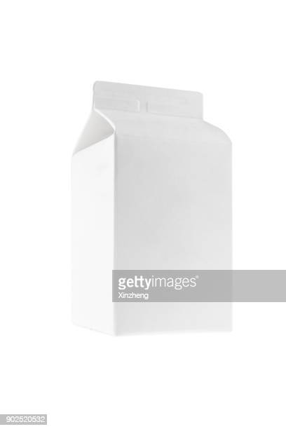 milk box - milk pack stock photos and pictures