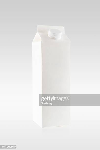 milk box - carton stock photos and pictures