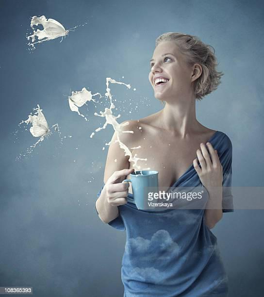 milk butterflys
