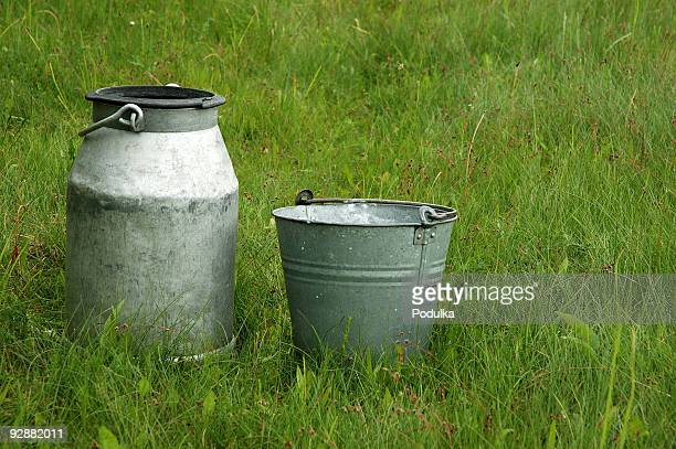 Milk canister & pail