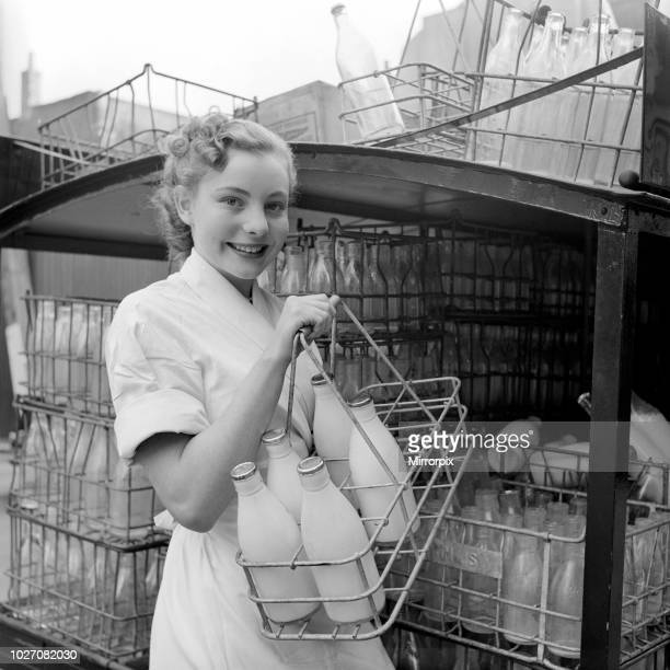 'Milk Woman' Barbara Ferris who by day delivers the milk and the eggs and help out in the family shop in the evening becomes Barbara the Ballerina...