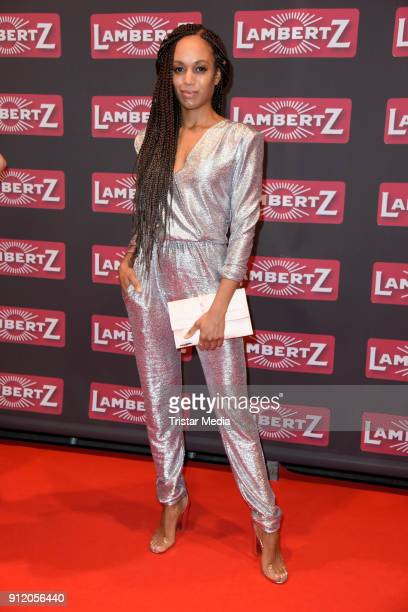 Milka LoffFernandes during the Lambertz Monday Night 2018 at Alter Wartesaal on January 29 2018 in Cologne Germany