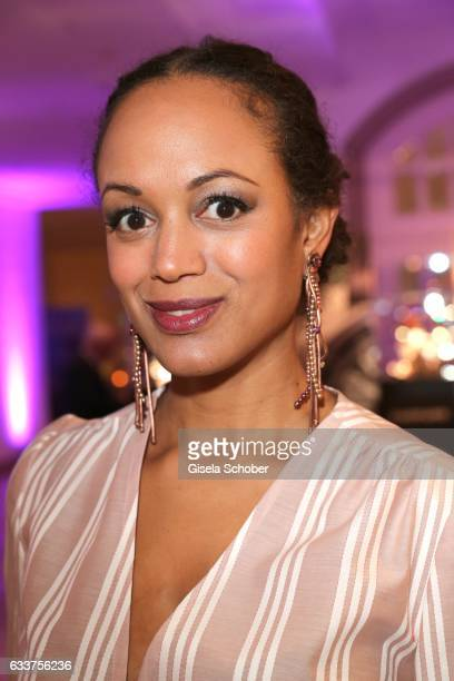 Milka LoffFernandes during the Semper Opera Ball 2017 reception at Hotel Taschenbergpalais Kempinski on February 3 2017 in Dresden Germany