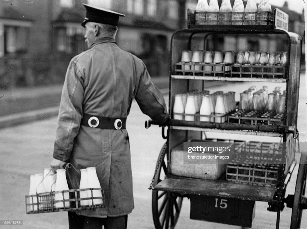 Milkman Safety : News Photo