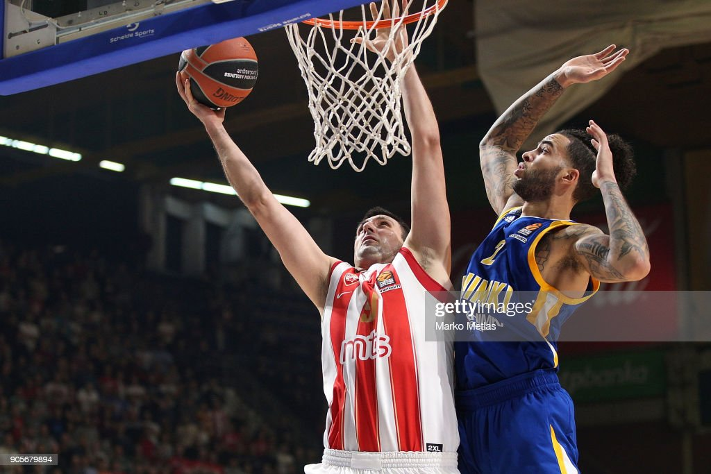 Crvena Zvezda mts Belgrade v Khimki Moscow Region - Turkish Airlines EuroLeague
