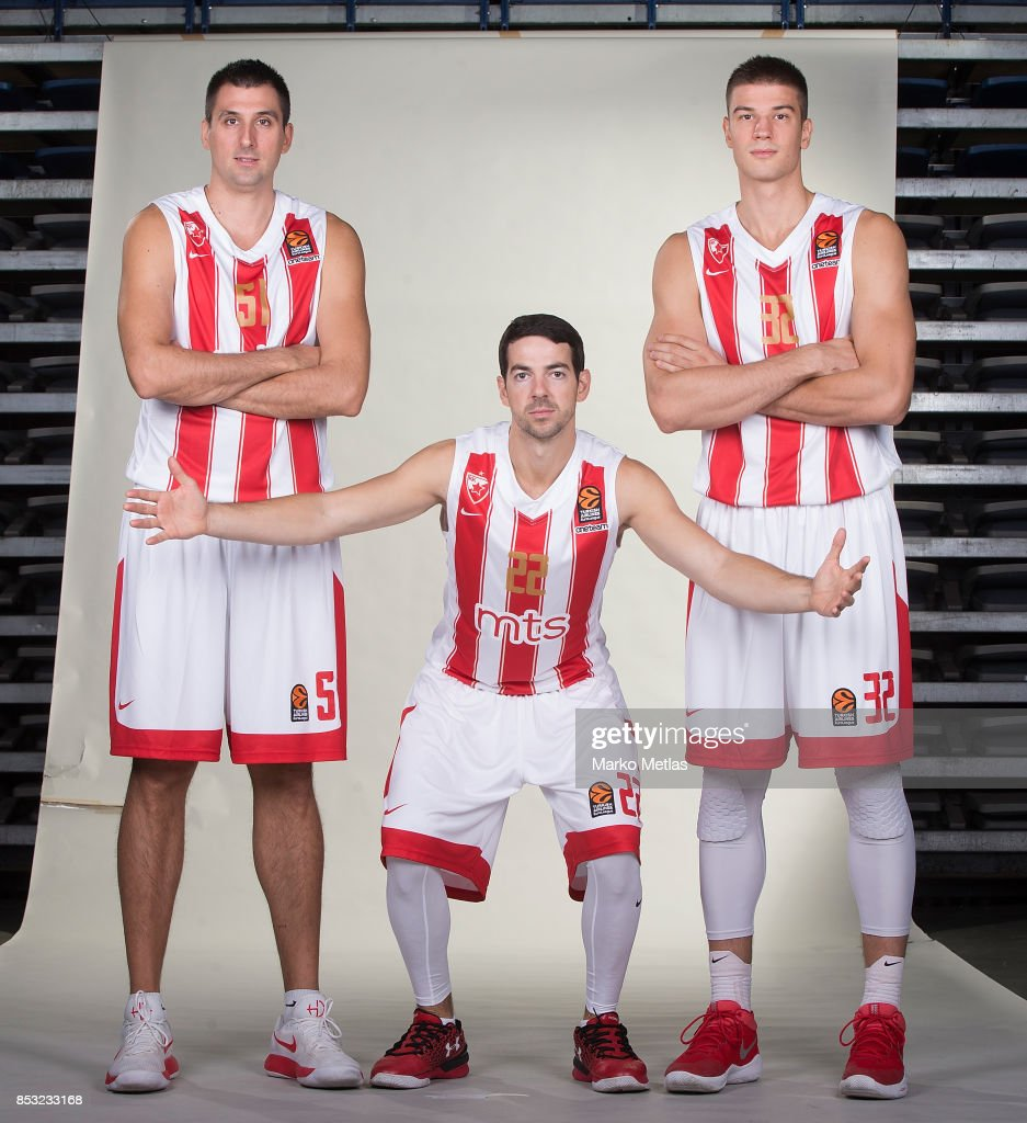 Crvena Zvezda mts Belgrade 2016/2017 Media Day - Turkish Airlines EuroLeague