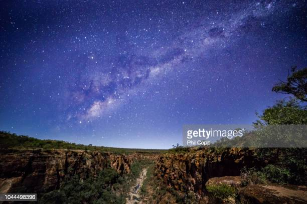 milky gorge - astronomy stock pictures, royalty-free photos & images