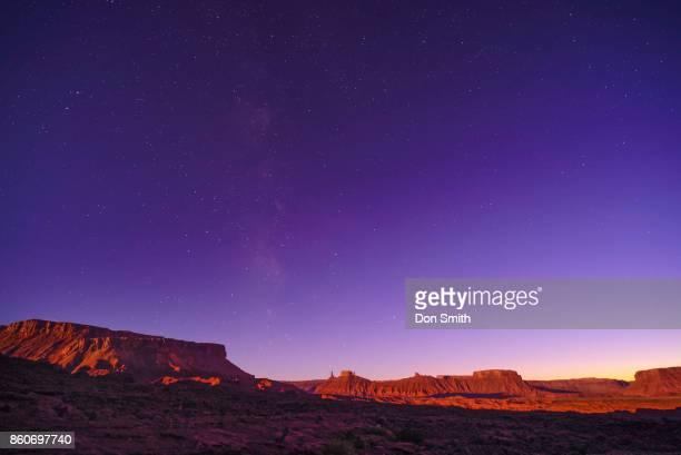 Milky Way Above Castle Valley