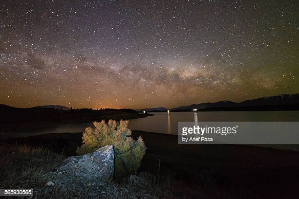 Milky Way Above Lake Pukaki