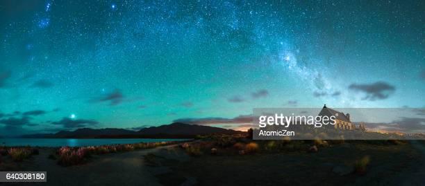Milky way above Lake Tekapo, New Zealand