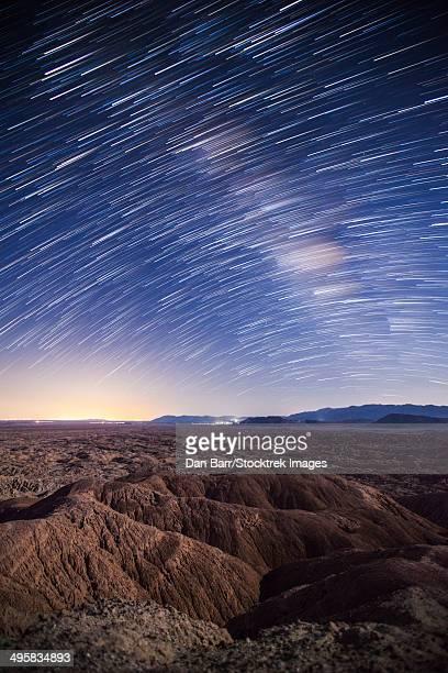 Milky Way above the Borrego Badlands, California.