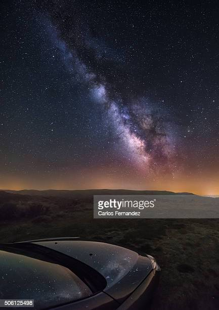 Milky Way and Car