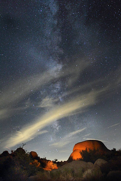Milky way and clouds