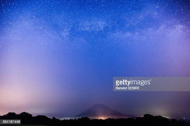 Milky Way and Mount Yotei