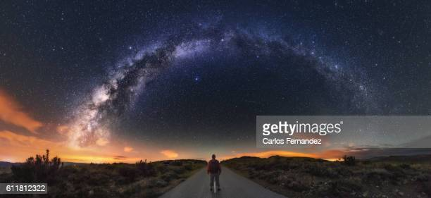 Milky Way And Road