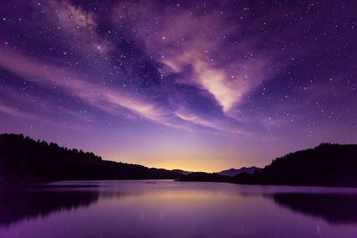 Milky way and Starry sky scene, South China 1164815367
