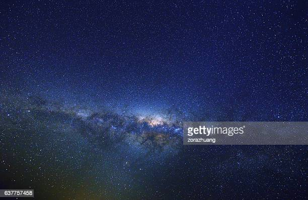 milky way at spring, australia - milky way stock pictures, royalty-free photos & images