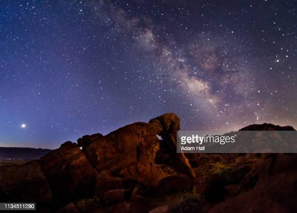 Milky Way Elephant Rock