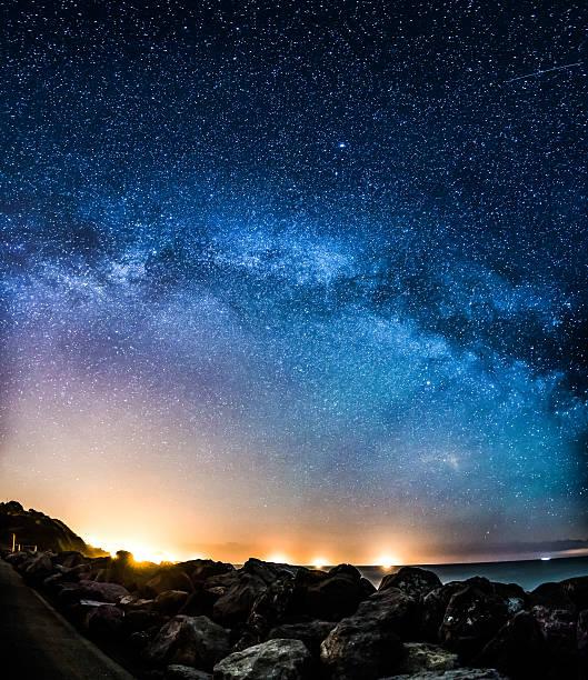 Milky Way Galaxy Arching Across The Sky