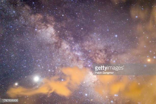 milky way galaxy with stars and space dust in the universe. - milky way stock pictures, royalty-free photos & images