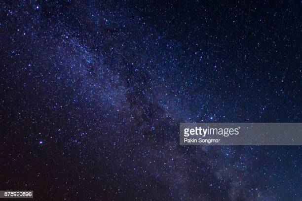 milky way galaxy with stars and space dust in the universe - milky way stock pictures, royalty-free photos & images